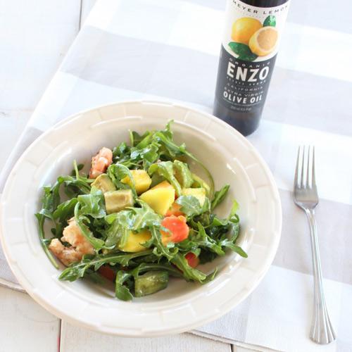 salad tom nuong va rau qua - 5