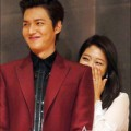 """Làng sao - """"Bạn gái"""" Lee Min Ho e ấp nép bên người yêu"""
