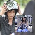 Làng sao - Hoài Linh dạy Hiền Mai cưỡi mô tô