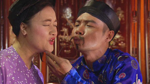 hinh anh cuoi vo bung cua nghe sy van dung - 7
