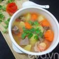 Bếp Eva - Thịt bò hầm khoai tây nóng hổi