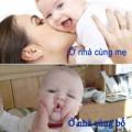 Làm mẹ - Mẹ chăm thì sướng, bố chăm thì...thường