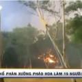 Nổ phân xưởng pháo hoa làm 19 người thiệt mạng