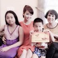 Làng sao - Mai Thu Huyền khoe mái ấm gia đình
