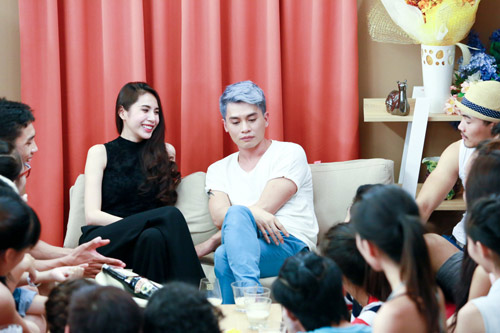 thuy tien than mat voi thi sinh next top model - 7