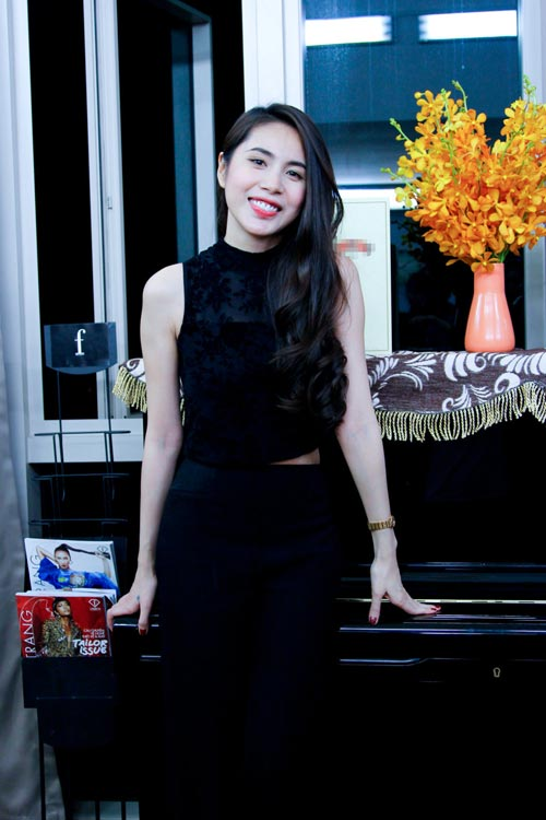 thuy tien than mat voi thi sinh next top model - 2