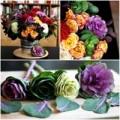 Nhà đẹp - Hoa đẹp 20-10: Lạ mắt 2 mẫu cắm hoa Bắp cải