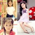"""Làm mẹ - """"Choáng"""" bé 6 tuổi xinh như hotgirl"""