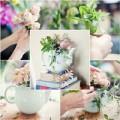 Nhà đẹp - Hoa đẹp 20-10: Cắm 'bình trà hoa' thơm phức