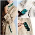 Thời trang - Eva khéo tay: áo khoác dáng dài đính đá thời thượng
