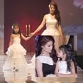 Thời trang - Mẹ con Trương Ngọc Ánh tỏa sáng trên sàn catwalk