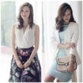 Thời trang - Chọn váy đầm nổi bật tại tiệc cưới mùa Thu
