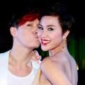 Làng sao - Nathan Lee hôn Phương Mai đắm đuối