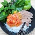 Bếp Eva - Bún cuộn thịt heo, tôm chua nhanh gọn