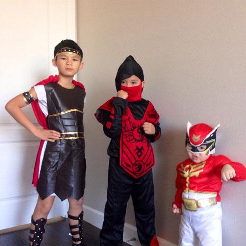 con trai bang kieu ngo nghinh don halloween - 1