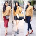 Thời trang - 4 cách diện áo len đơn giản mà đẹp