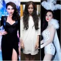 Thời trang - Sao Việt hóa trang rùng rợn ngày Halloween