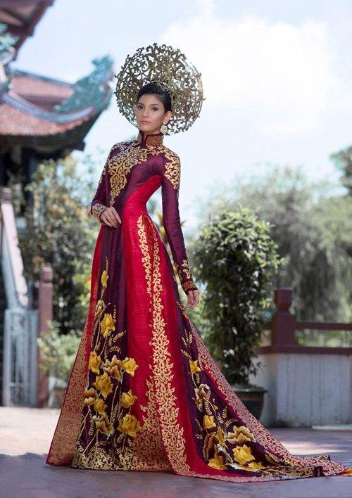 ao dai vn lot top 5 quoc phuc dang xem nhat - 2