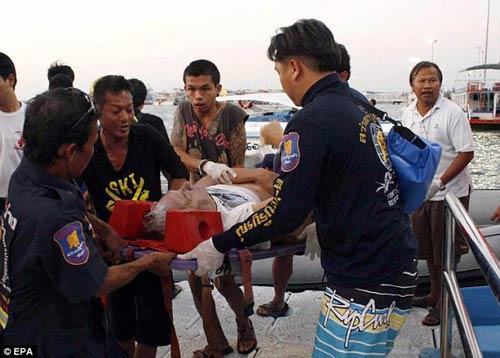 thai lan: chim pha du dich, 6 nguoi chet - 1