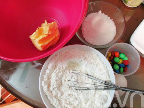 Bánh quy M&M cho bé nào!-1