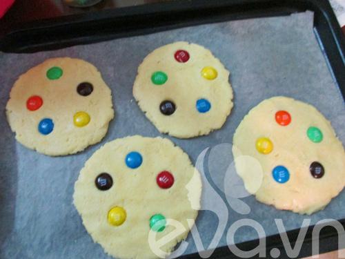 Bánh quy M&M cho bé nào!-5