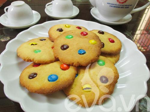 Bánh quy M&M cho bé nào!-7