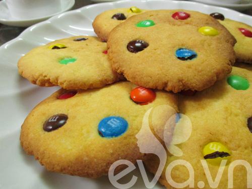 Bánh quy M&M cho bé nào!-8