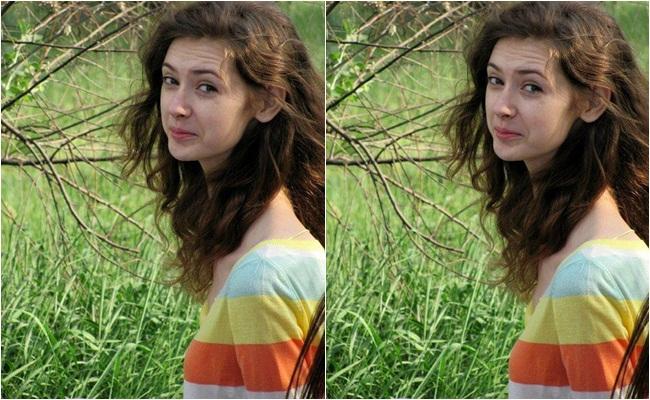 Cô gái xinh đẹp cổ dài như...cổ hươu