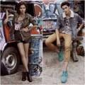 Thời trang - Thí sinh Next Top trẻ trung với trang phục đường phố