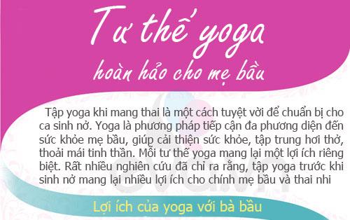 5 tu the yoga giup me bau mi nhon - 1