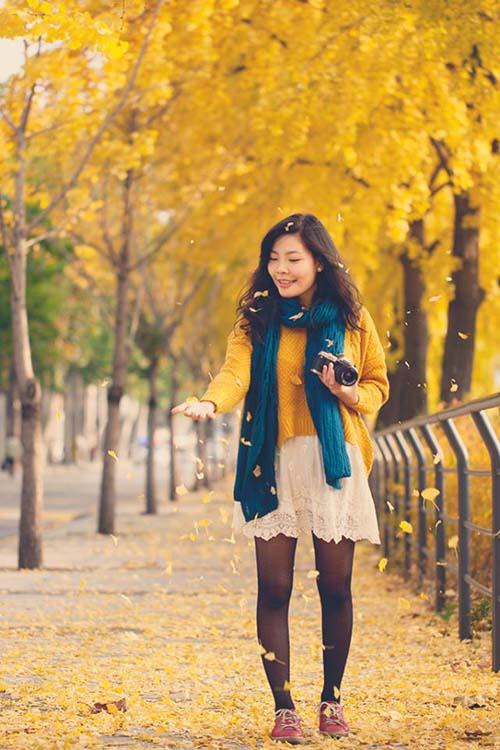 """Eva talk: """"Thời trang Hàn đơn giản nhưng rất style""""-1"""