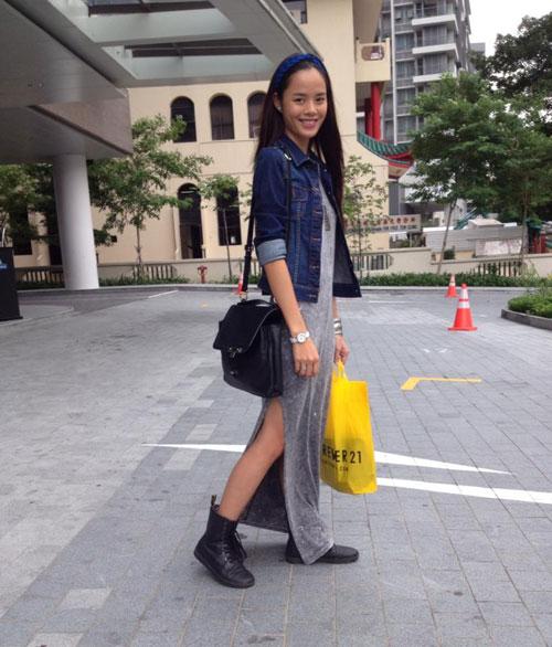Sao Việt cá tính muôn màu cùng áo khoác denim - 6