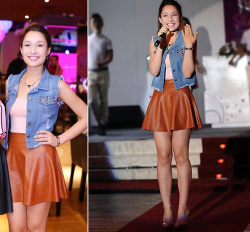 Sao Việt cá tính muôn màu cùng áo khoác denim - 12