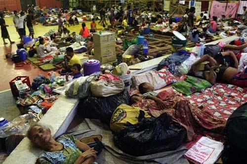 Cận cảnh siêu bão Haiyan càn quét Philippines - 7