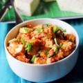 Bếp Eva - Đậu phụ ngô bao tử xốt cà chua
