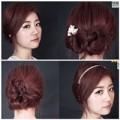 Làm đẹp - 2 kiểu tóc cực yêu cho cô dâu vụng về