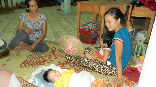 """Dân """"chạy"""" vào khách sạn tránh bão Haiyan - 3"""