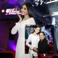 Thời trang - Mẹ Trương Thị May cổ vũ con gái tổng duyệt