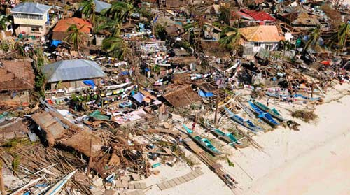 Ảnh, video: Philippines tan hoang sau siêu bão Haiyan - 2