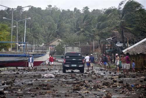 Ảnh, video: Philippines tan hoang sau siêu bão Haiyan - 13