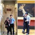 Làng sao - Vũ Hoàng Việt hôn say đắm người tình tại Pháp