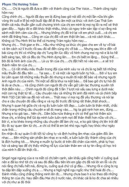 """ly do huong tram """"cat lien lac"""" voi thu minh - 6"""