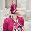 Thời trang - Eva Icon: Quý cô công sở làm điệu cùng khăn