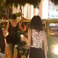 Làng sao - Hoàng Yến đi taxi sau vụ lật xe kinh hoàng