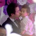 Làng sao - Con trai Đăng Khôi bảnh bao trong đám cưới