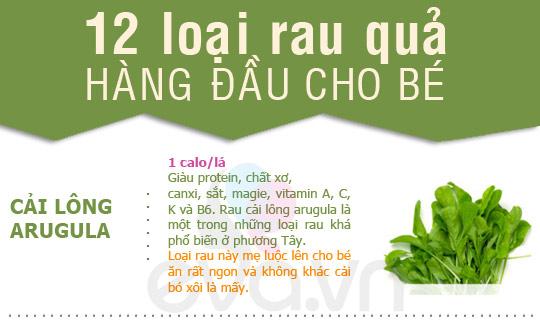 12 loai rau khong the bo qua cho be - 1