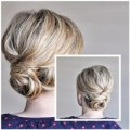 Làm đẹp - Kiểu búi tóc cho mái tóc không đủ dài