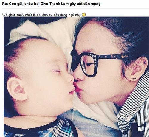 chau trai thanh lam gay sot cong dong mang - 3