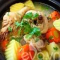 Bếp Eva - Canh gà hầm khoai tây nóng bỏng lưỡi