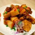 Bếp Eva - Ngon cơm với thịt kho khoai môn